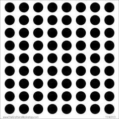 TCW 12x12 Template Circle Grid