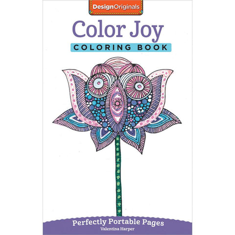 Design Originals Color Joy Colouring Book: Perfectly Portable Pages