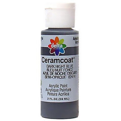 Ceramcoat Dark Night Blue