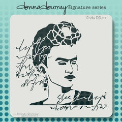 Donna Downey Signature Stencils Frida