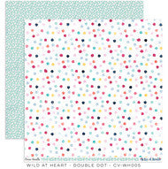 CV-WH005 Wild At Heart Double Dot Pattern Paper