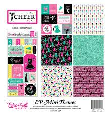Echo Park Mini Themes Collection Kit Cheer