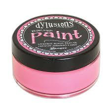 Dylusions Paint Peony Blush
