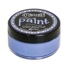 Dylusions Paint Periwinkle Blue