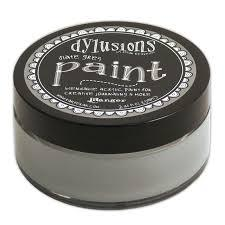 Dylusions Paint Slate Grey NEW