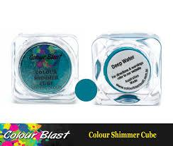 Colour Blast Colour Shimmer Cube Deep Water