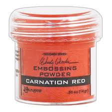 Ranger Wendy Vecchi Embossing Powder Carnation Red