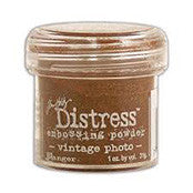 Tim Holtz Distress Embossing Powder Vintage Photo