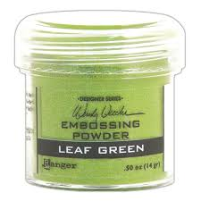 Ranger Wendy Vecchi Embossing Powder Leaf Green