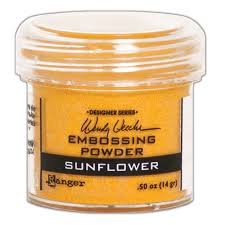 Ranger Wendy Vecchi Embossing Powder Sunflower