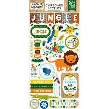Echo Park Jungle Safari Chipboard Accents