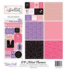 Echo Park Mini Themes Collection Kit Ballet