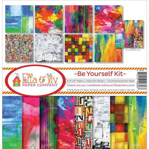 Ella & Viv Paper Company Collection Kit - Be Yourself Kit