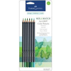 Mix and Match Colored Pencils Green