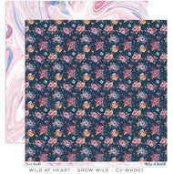 CV-WH007 Wild At Heart Grow Wild Pattern Paper