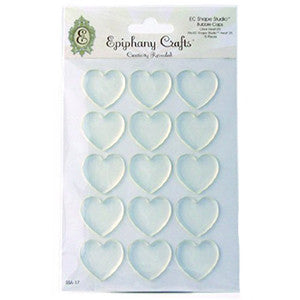 Epiphany Crafts Shape Studio Bubble Caps Hearts 25