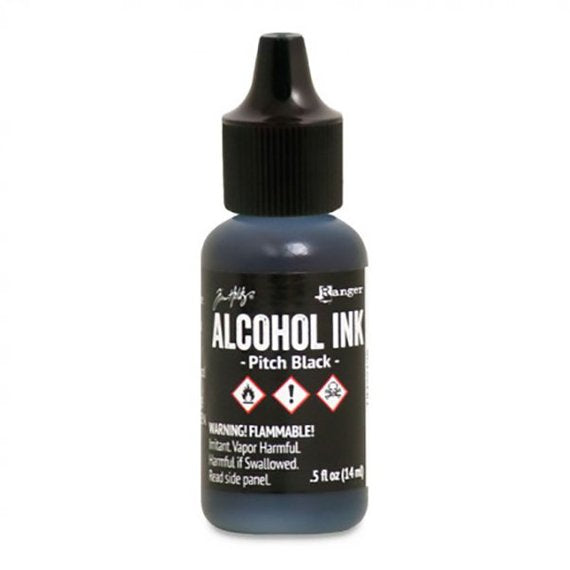 Tim Holtz Alcohol Ink Pitch Black