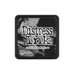 Tim Holtz Mini Distress Ink Black Soot