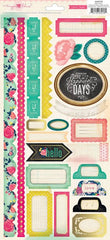 Crate Paper Maggie Holmes Flea Market Sticker Sheet