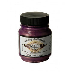 Jacquard Lumiere Paint Halo Violet Gold