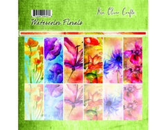 Ken Oliver Watercolor Florals 6x6 Collection Pack