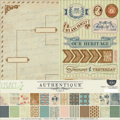Authentique Legacy Collection Kit 12x12
