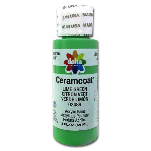 Ceramcoat Lime Green