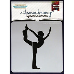 Donna Downey Signature 8x8 Stencil Lord of Dance