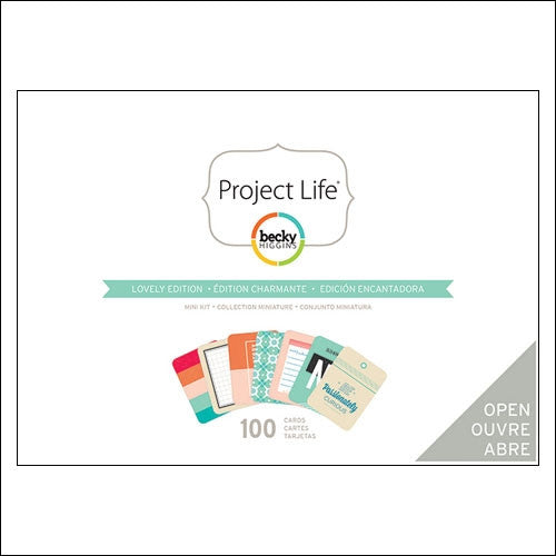 Project Life Mini Kit Lovely Edition