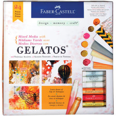 Gelatos Mixed Media Kit 24 Pieces