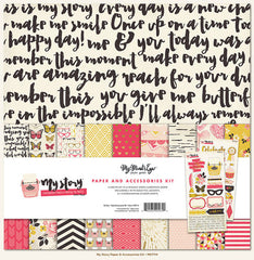 MME My Story Paper and Accessory Pack