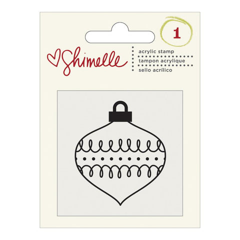Shimelle Christmas Acrylic Stamp Ornament
