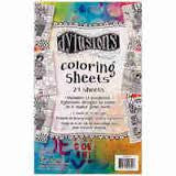 Dylusions Coloring Sheets
