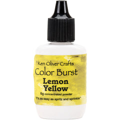 Color Burst Powder Lemon Yellow