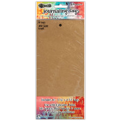 Dylusions Journaling Tags Kraft