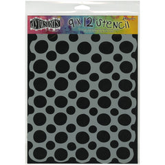 Dylusions 9x12 Stencil Circles Large