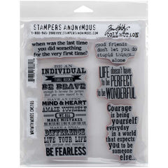 Tim Holtz Stampers Anonymous Stamps Way With Words