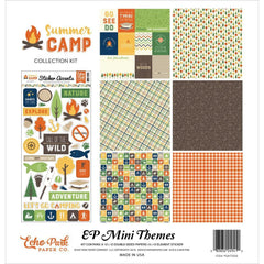 Echo Park Summer Camp Mini Collection Kit