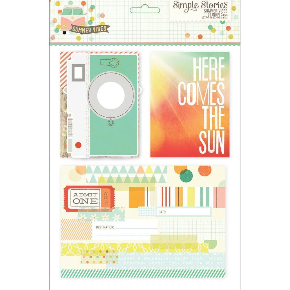 Summer Vibes Sn@p Cards 74 pack