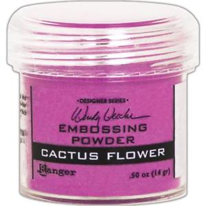 Ranger Wendy Vecchi Embossing Powder Cactus Flower
