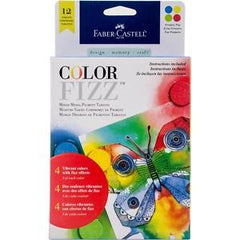 Faber-Castell Color Fizz Pigment Tablets Primary Pop