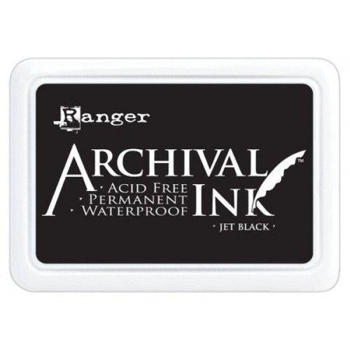 Ranger Archival Ink pad Large Jet Black