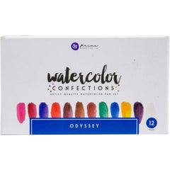 Prima Watercolor Confections Pan Set Watercolor Odyssey
