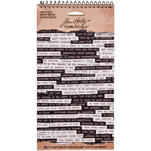 Tim Holtz idea-ology Small Talk
