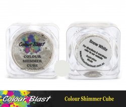 Colour Blast Colour Shimmer Cube Snow White