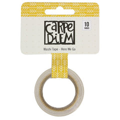 Carpe Diem Washi Tape Here We Go