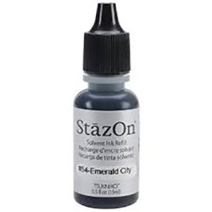 StazOn Solvent Ink Refill Emerald City