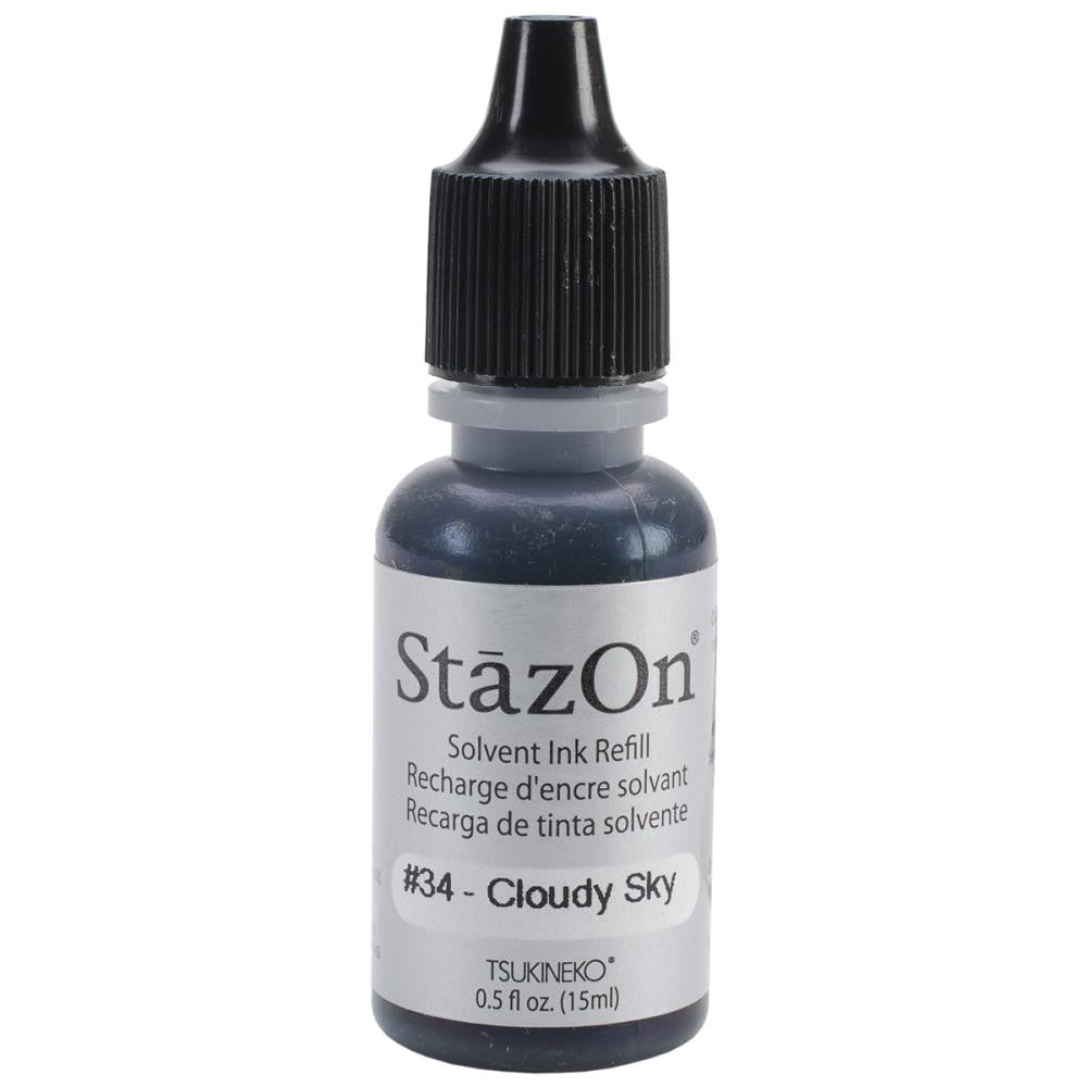 StazOn Solvent Ink Refill Cloudy Sky