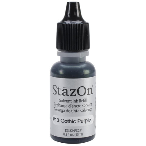 StazOn Solvent Ink Refill Gothic Purple