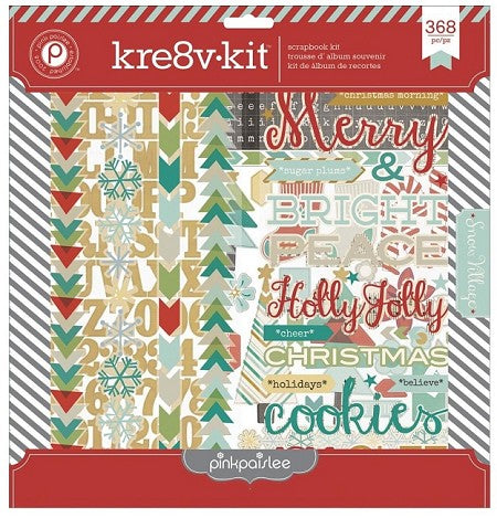Pink Paislee Kre8v Kit Snow Village